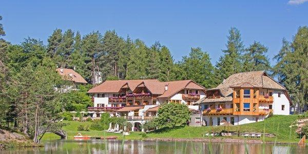 Foto esterno in estate Weihrerhof