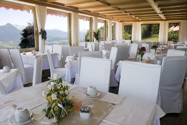 Il ristorante Monte di Mezzo (Renon) Naturhotel Wieserhof