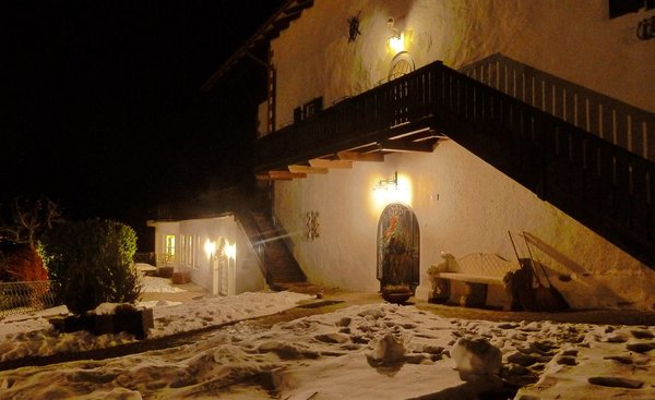 Foto esterno in inverno Naturhotel Wieserhof