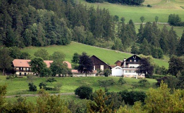Foto esterno in estate Naturhotel Wieserhof