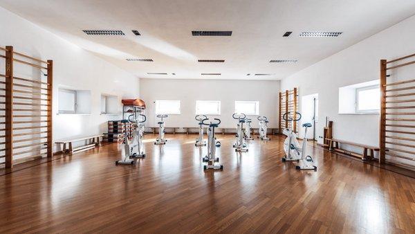 Foto della zona fitness Naturhotel Wieserhof