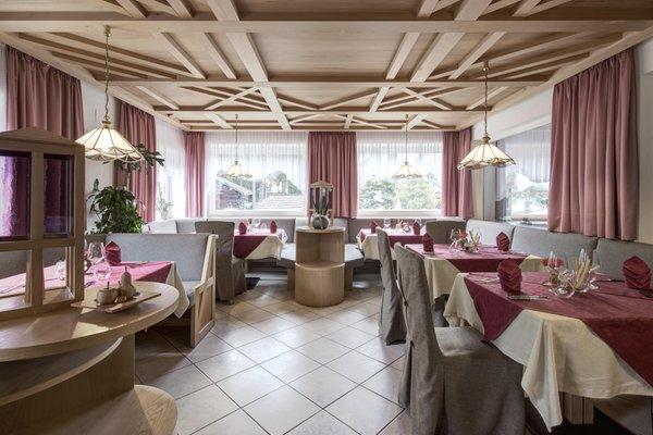 Il ristorante Badia - Pedraces Gardenazza