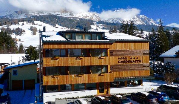 Foto invernale di presentazione Gardenazza - Hotel 3 stelle