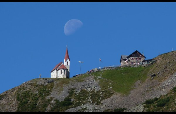 Lage Berghütte Latzfonserkreuz Sarntal