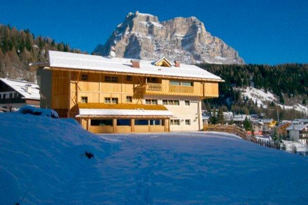 Foto invernale di presentazione Sas de Pelf - Residence 3 stelle