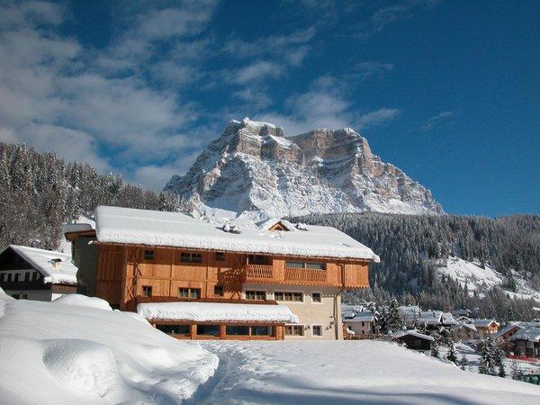 Foto invernale di presentazione Residence Sas de Pelf