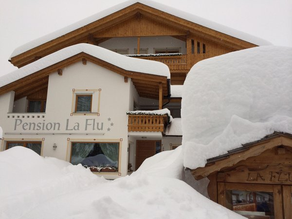 Foto invernale di presentazione La Flu - Pensione 3 stelle