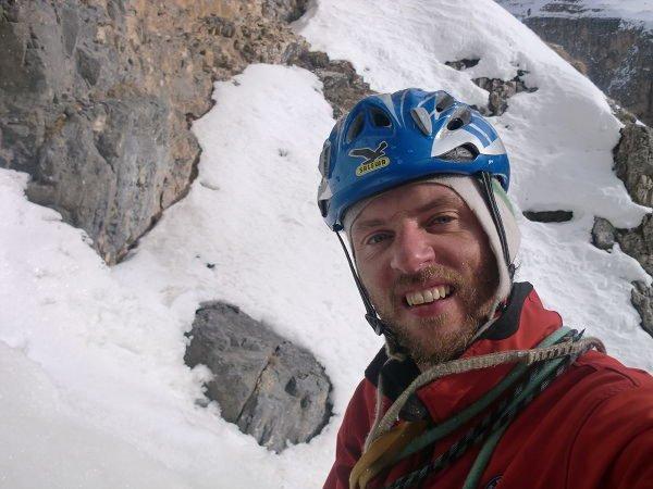 Foto di presentazione Peter Vanzo - Guida alpina