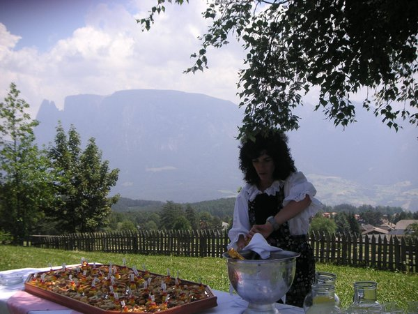Foto del giardino Collalbo (Renon)