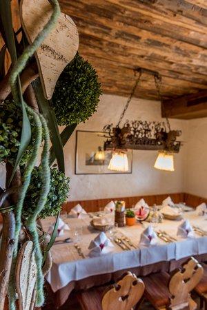 Il ristorante Collalbo (Renon) Ansitz Kematen