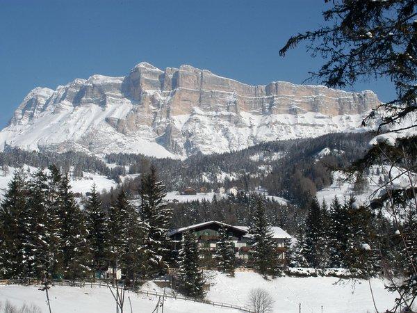 Foto esterno in inverno La Müda