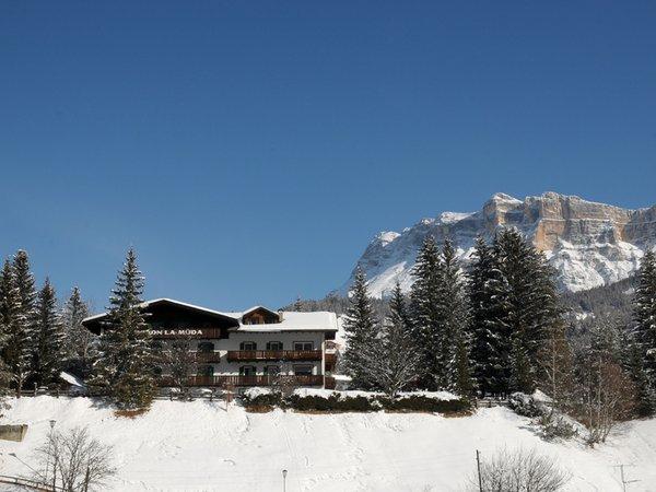Foto invernale di presentazione Hotel La Müda