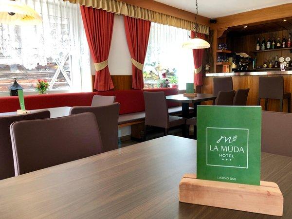 Il ristorante Badia - San Leonardo La Müda