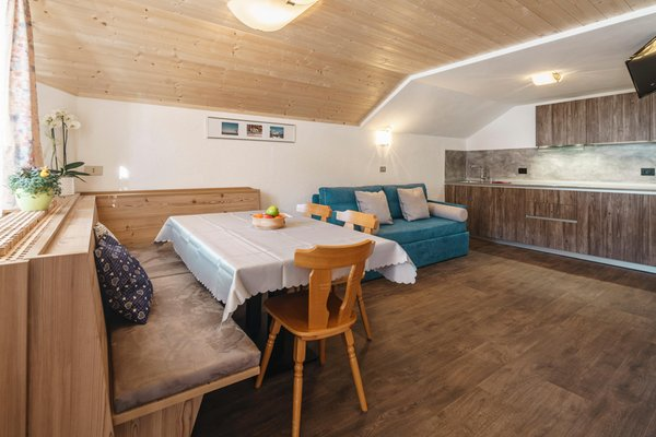 The living area B&B (Garni) + Apartments Plang