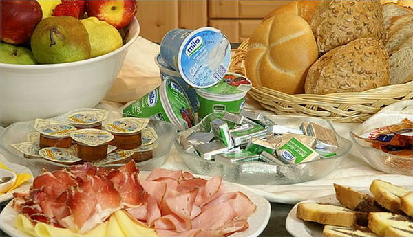 Das Frühstück Pension Runcac'