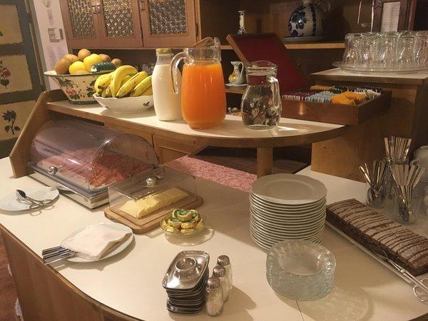 The breakfast Garni (B&B) Baita