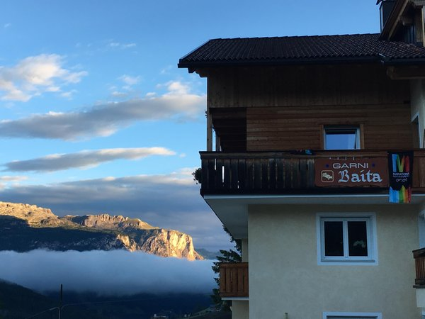 Photo exteriors in winter Baita