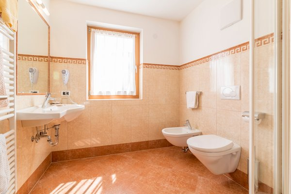 Photo of the bathroom B&B (Garni) + Apartments Jasmin