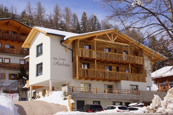Foto invernale di presentazione Ambrìa - Appartamenti 2 soli