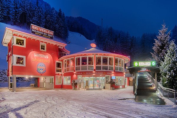 Foto esterno in inverno Skihaus Sporting