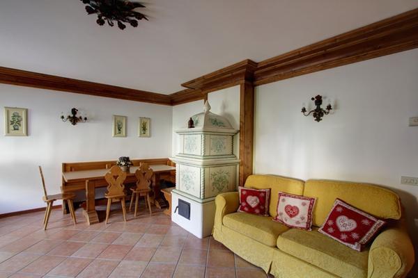 Der Wohnraum Ferienwohnung Al Taulà