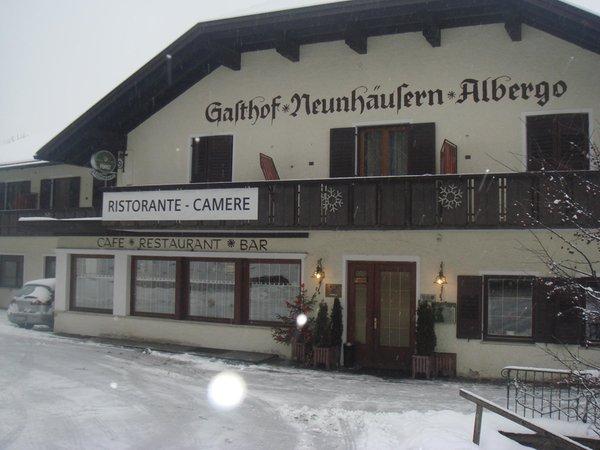Winter Präsentationsbild Neunhäusern / Nove Case - Restaurant