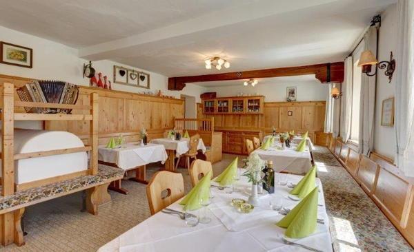 Il ristorante Rio Bianco (Valle Aurina) Mösenhof