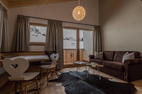 Der Wohnraum Villa Flora - Garni (B&B) + Ferienwohnungen 3 Stern sup.