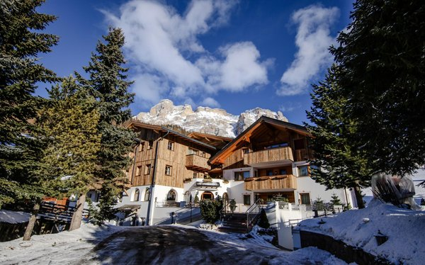 Photo exteriors in winter Villa Flora Mountain Lodges