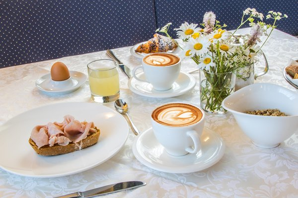 Das Frühstück Pension Rü Blanch