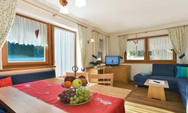 Der Wohnraum Roderhof - Ferienwohnungen auf dem Bauernhof 3 Blumen
