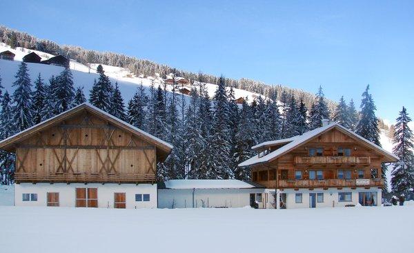 Foto invernale di presentazione Roderhof - Appartamenti in agriturismo 2 fiori