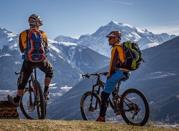 Foto invernale di presentazione Noleggio & scuola bike Südtirolbike