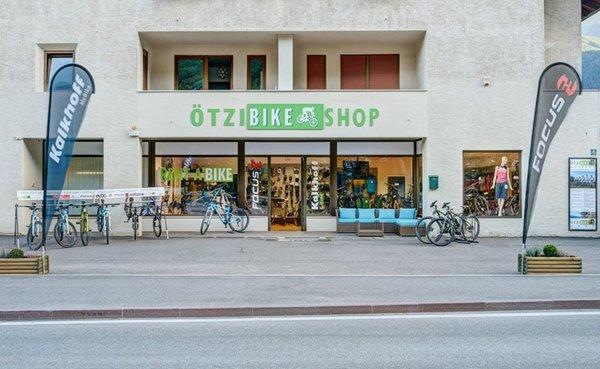 Präsentationsbild Ötzi Bike Shop & Academy - Fahrradverleih und Bikeschule