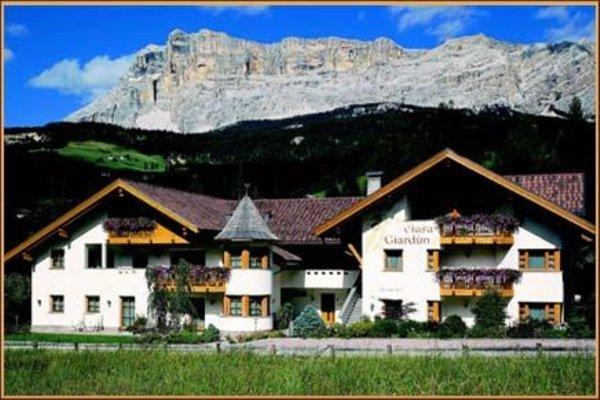 Foto estiva di presentazione Residence Ciasa Giardun