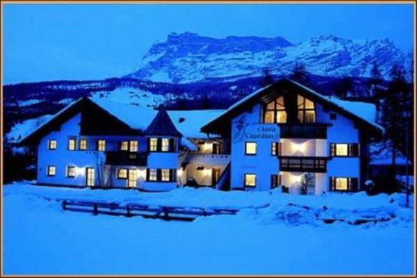 Foto invernale di presentazione Ciasa Giardun - Residence 3 stelle