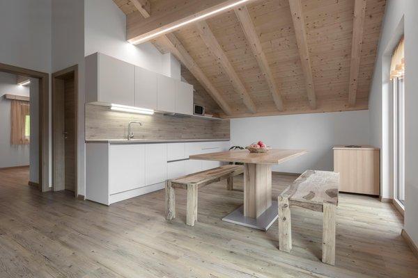 Foto der Küche Ciasa de Lenz