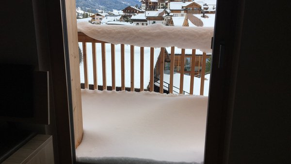 Foto vom Balkon Ciasa de Lenz