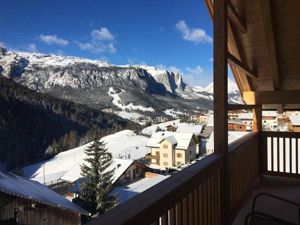 Photo of the balcony Ciasa de Lenz