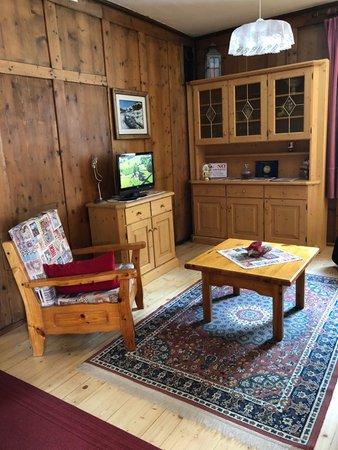 Der Wohnraum Ferienwohnung Casa Sartori