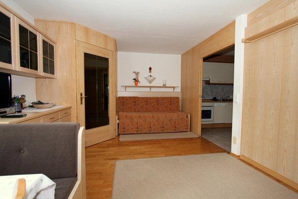 The living area Apartments Ciasa La Rösa
