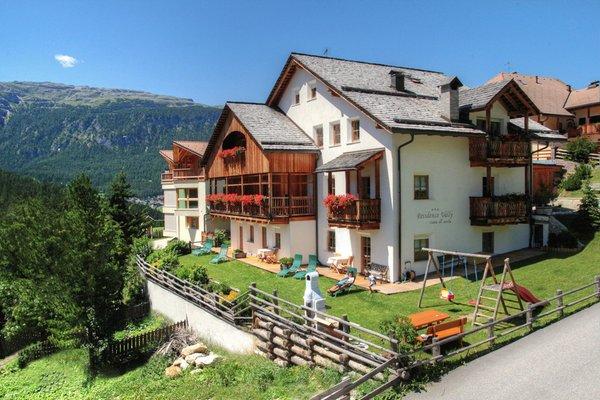 Foto estiva di presentazione Ciasa Vally - Residence 3 stelle