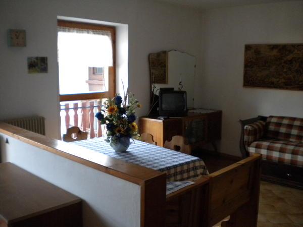 Die Gemeinschaftsräume Ferienwohnungen Varesco Dolores