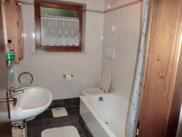 Foto del bagno Appartamenti Delvai