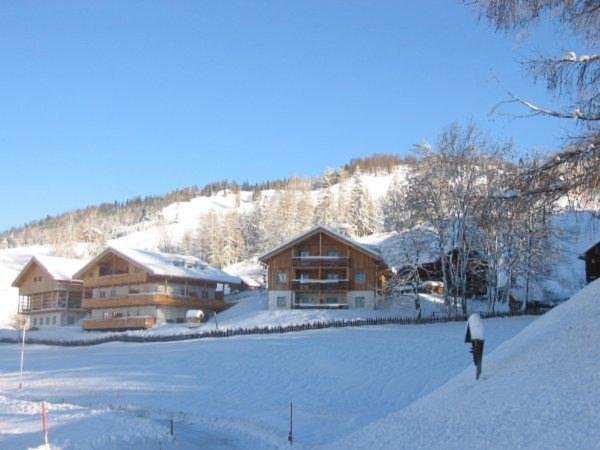 Foto invernale di presentazione Rosarela - Residence 3 stelle