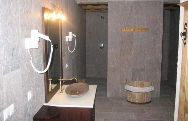 Foto del bagno Residence Rosarela