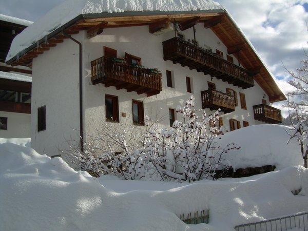 Foto invernale di presentazione Casa Cappeller - Appartamento 2 stelle