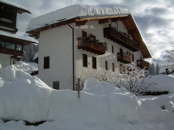 Foto esterno in inverno Casa Cappeller