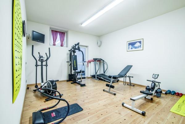 Foto vom Fitness-Bereich Residence Badia