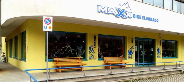 Foto Außenansicht im Sommer Maxx Bike Eldorado